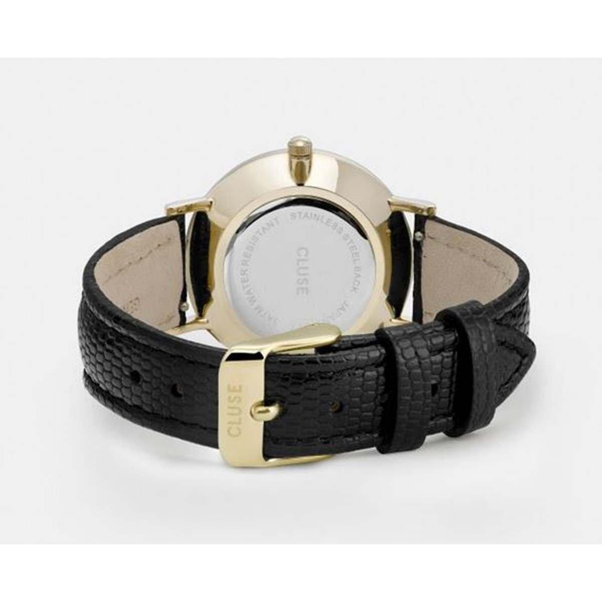 Cluse Reloj Analógico para Mujer de Cuarzo con Correa en Cuero CL30048: Amazon.es: Relojes