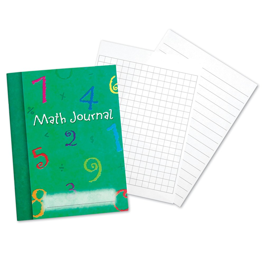 Learning Resources Math Journal, Set of 10