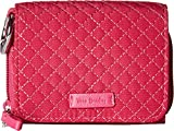 Vera Bradley Women's Iconic RFID Card Case Passion Pink One Size