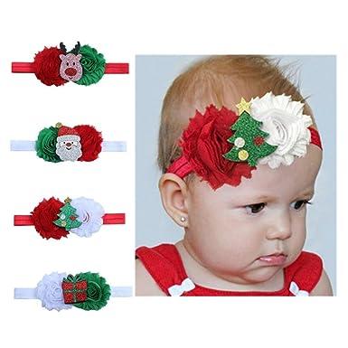 Amazon.com: Christmas Gift New Baby Girl Headband Hair Bands ...