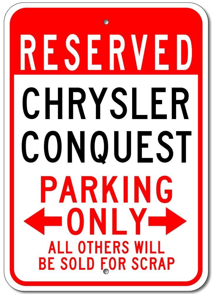 Plymouth Scampアルミニウム駐車場サイン 1) 10