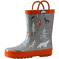 Jan & Jul Natural Rubber Rain Boots Toddler Boys Girls Kids