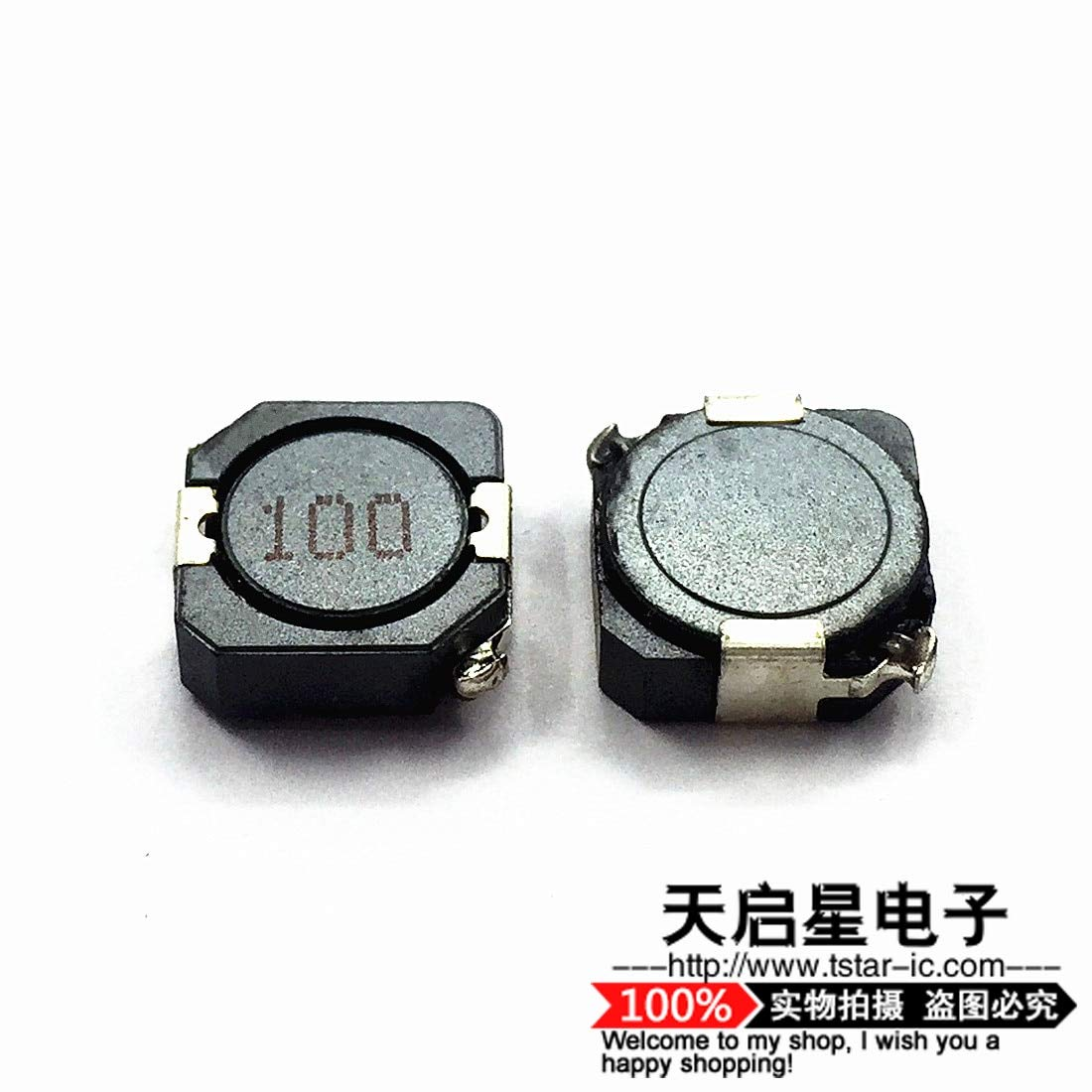 Maslin 20pcs//SMD Shielding inductors CDRH104R 10UH 10x10x4mm 4.4A MS104R Power inductors