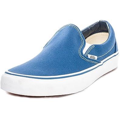 Amazon Canvas Veyenvy Unisex uk co Vans Bags amp; On Navy Slip Shoes 5YpBEEqw