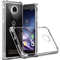 Capa Anti Shock para Moto Z3 Play, Cell Case, Capa Anti-Impacto, Transparente