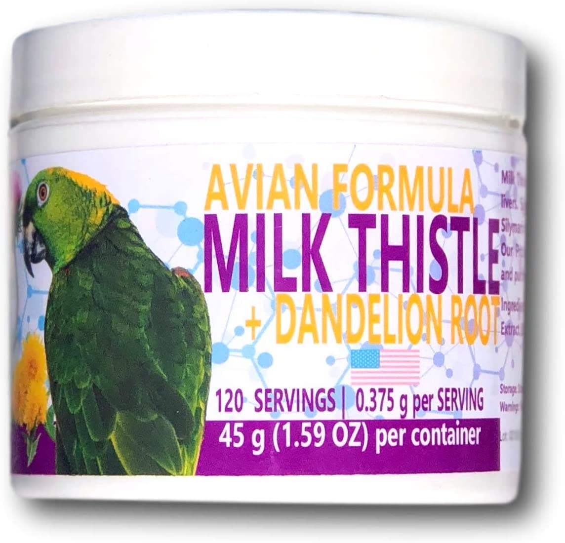 Ultra Pure Milk Thistle Dandelion Root Powder