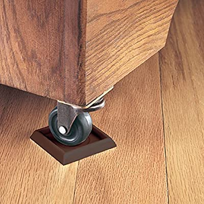 Furniture Caster Cups Vinyl Bottom Carpet Protector Hardfloor Appliances Legs