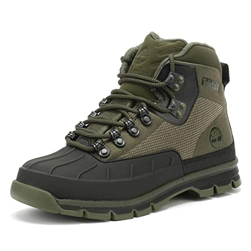 e93dff1a395 Timberland Euro Hiker Shell Toe Shoes Men Green 2018  Amazon.co.uk ...