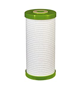 Filtrete Large Capacity Whole House Grooved Water Filter, 5 Microns, Sump Style Drop-In Filter, (4WH-HDGR-F01)