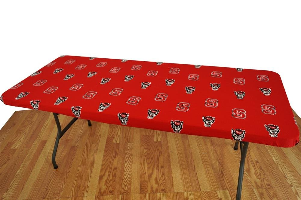 College Covers North Carolina State Wolfpack Table Cover, 6'/72 by 30''