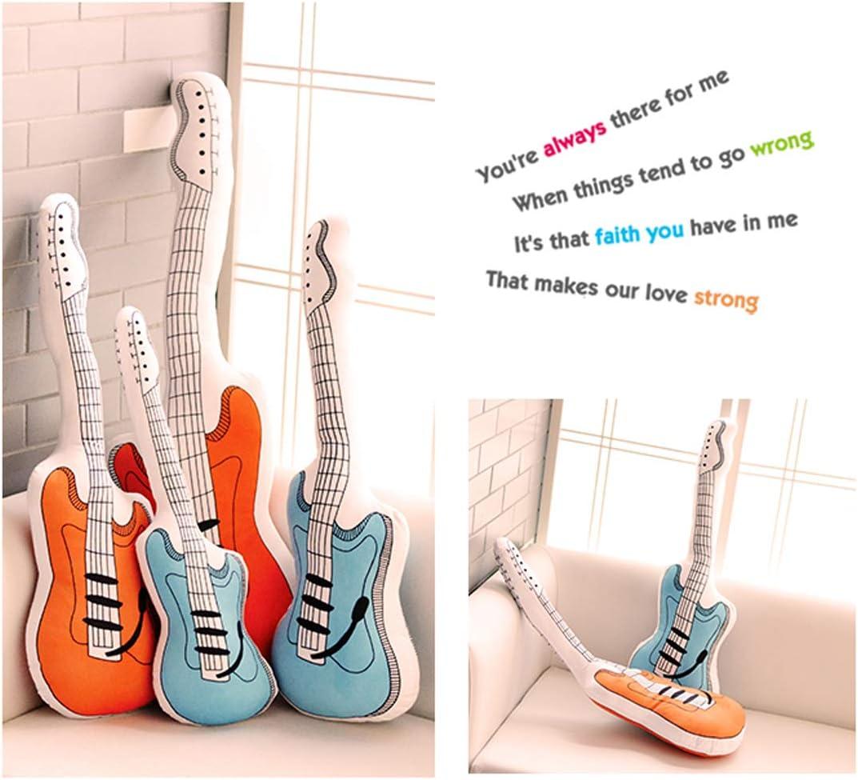 Cojín de Peluche para Guitarra, diseño de limón: Amazon.es: Hogar