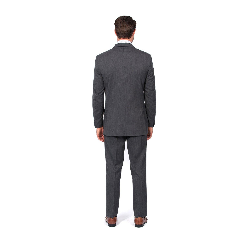 Combatant Gentlemen Men's Charcoal Slim Fit Suit 38 Long Charcoal by Combatant Gentlemen (Image #2)