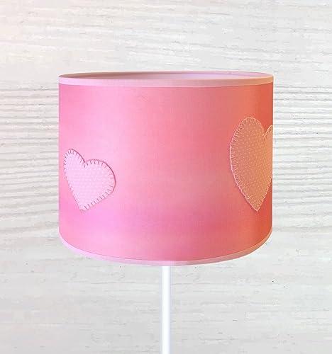 Exclusiva pantalla de lámpara de seda pintada a mano.: Amazon.es ...