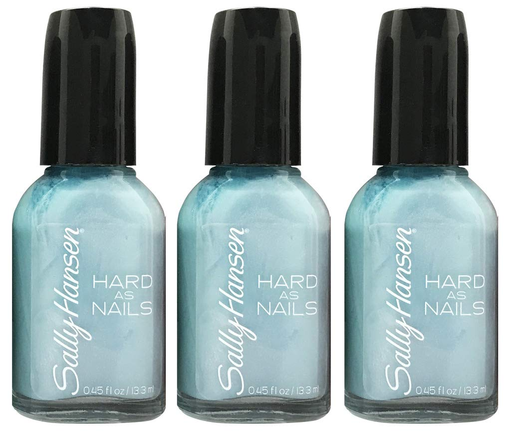Amazon.com : (3 Pack) Sally Hansen Hard As Nails Color, N-Ice Rock ...