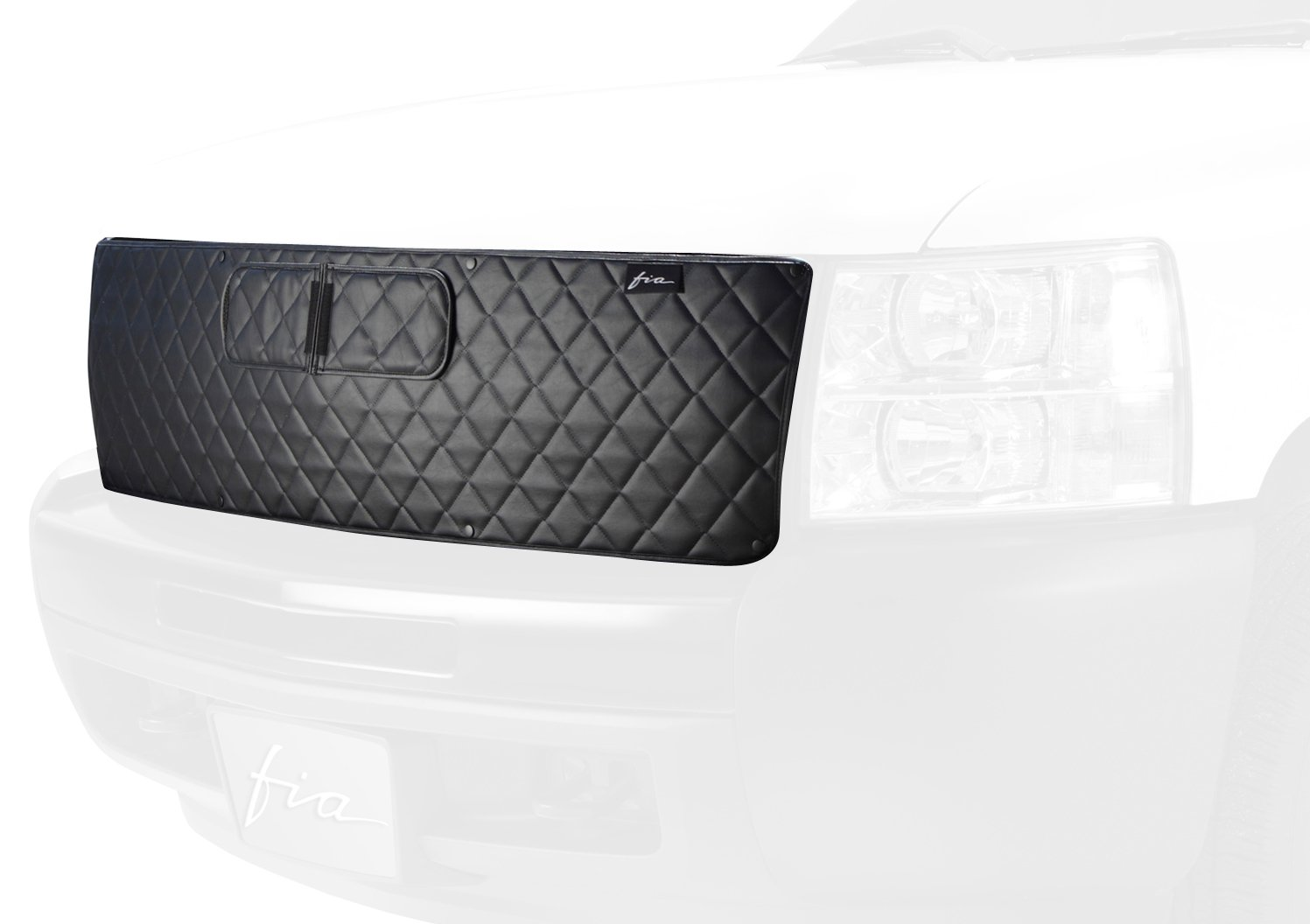 Fia Custom Fit Winter Front/Bug Screen - (Black) WF921-18