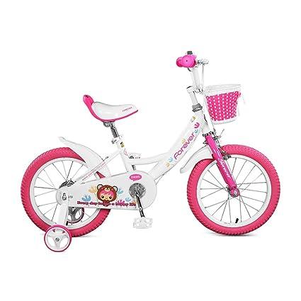 Bicicletas De Chicas Niños De 3-6 Años 14 Pulgadas Rosa ...