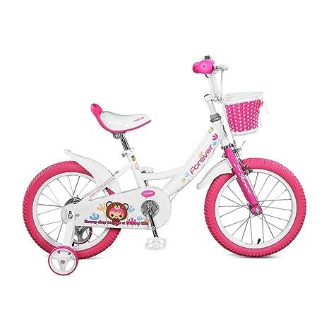 Lcm Bici Per Bambini Bicicletta Rosa Bici Da 14 Pollici Rosa Bici