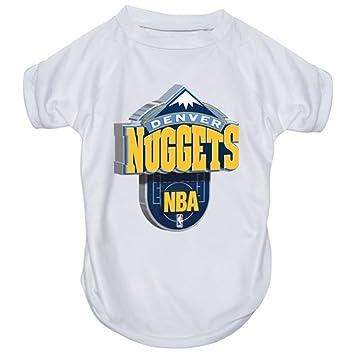 HUNTER Cazador Mfg Denver Nuggets Rendimiento Camiseta, pequeño