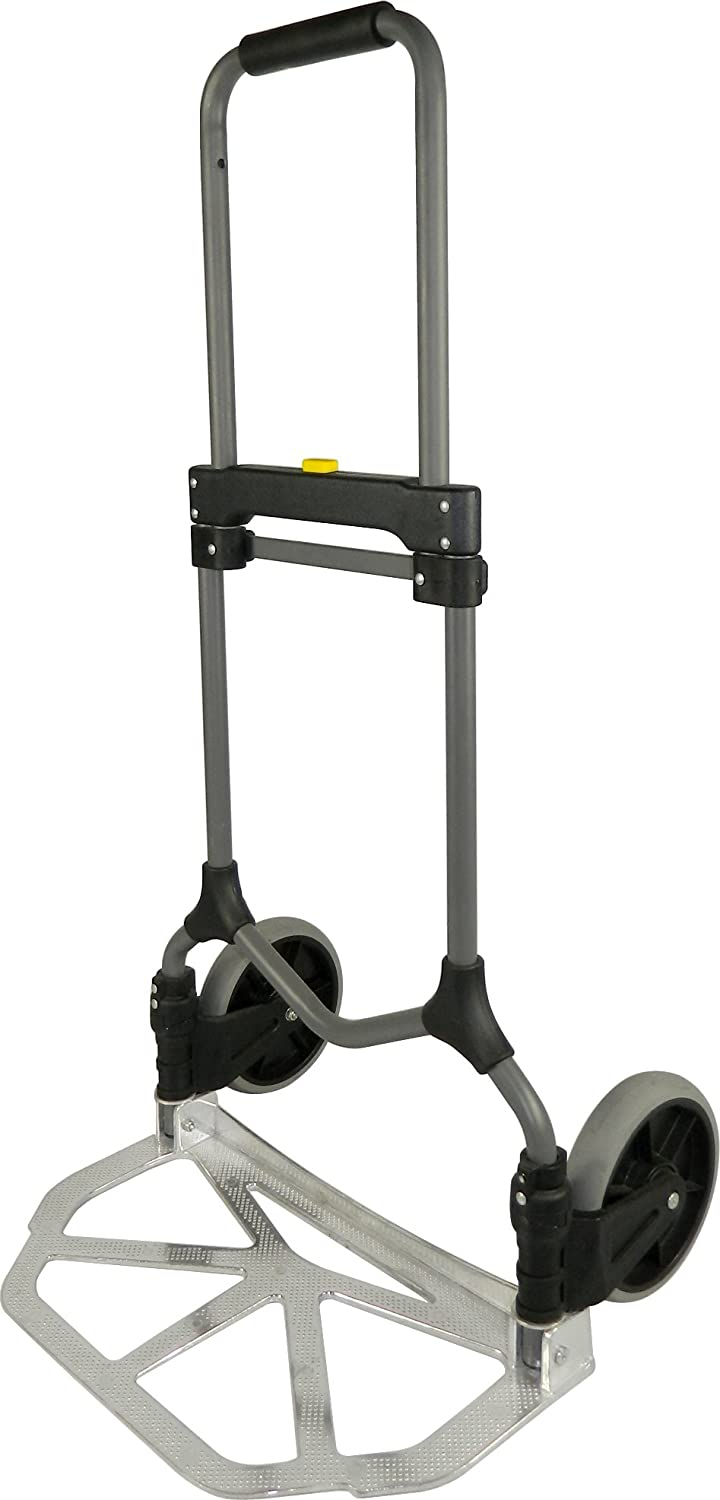 Welcom MC2S Magna Cart Elite 200 lb Capacity Folding Hand Truck Silver Frustration Free Packaging