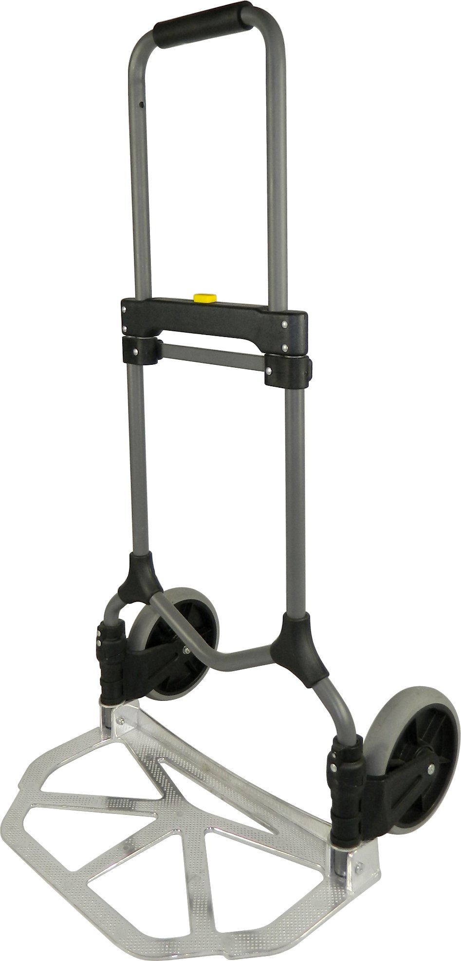 Welcom MC2S Magna Cart Elite 200 lb Capacity Folding Hand Truck, Silver, Frustration-Free Packaging