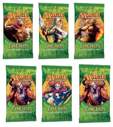 Theros 2 (Two) Player Booster Draft Set: Magic the Gathering MTG Booster Packs (6 Total Packs)