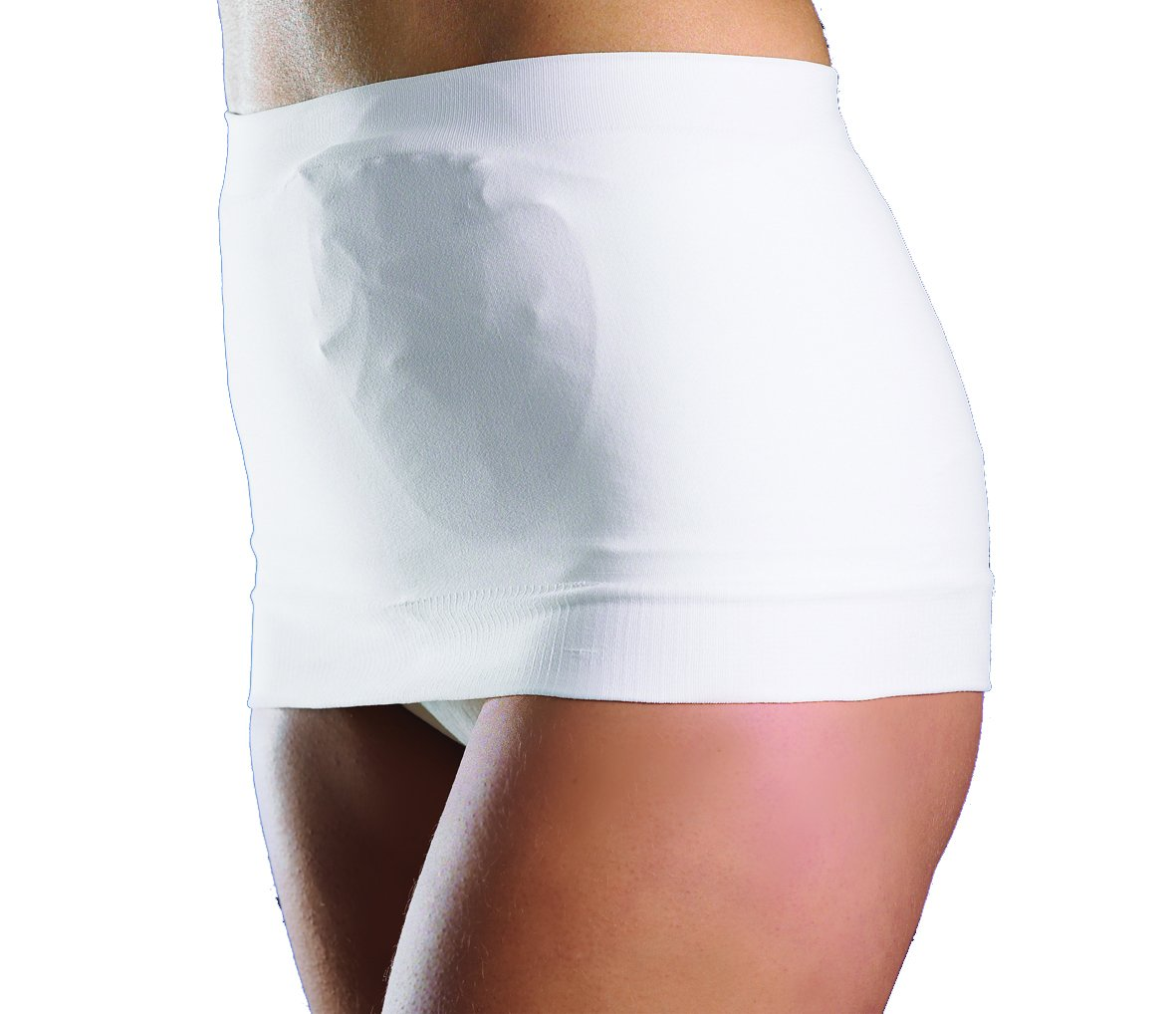 TYT32160402 - StomaSafe Plus Ostomy Support Garment, Medium/Large, 41-1/2 - 49-1/2 Hip Circumference, White 3216 51-04.02.T50