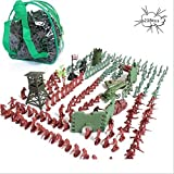 238 PCS WWI Set Army Men,War Soldiers with Backpack Bag,Toy Soldiers Set,Gift for Kids