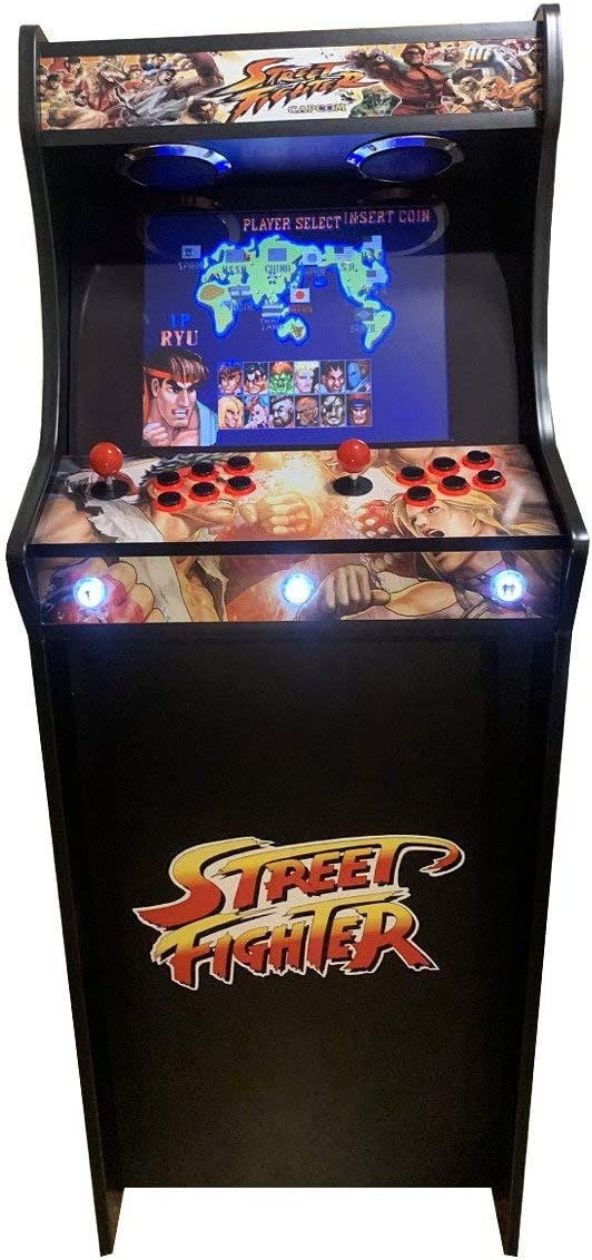 Máquina Arcade Lowboy Retro, máquina recreativa -Tamaño Real- Diseño Street