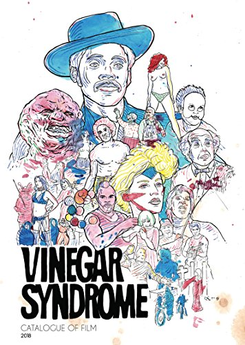 Catalogue Booklet - Vinegar Syndrome's 2018 Catalogue of Film [Booklet Only (NO DVD)]