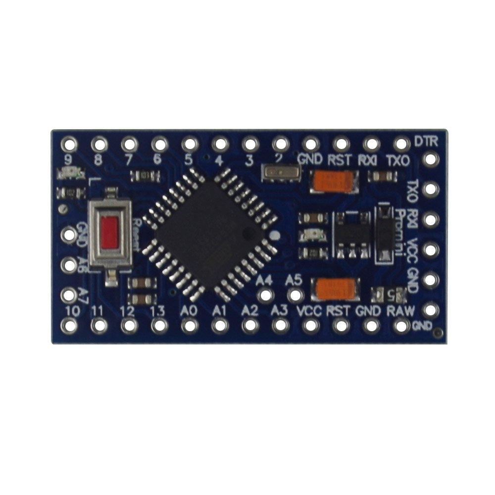 Yakamoz 3.3/V 8/m Mini USB Micro Tarjeta Controlador Consejo de Desarrollo para ATmega328P CH340G Nano V3.0/con Pin Ramas Pin