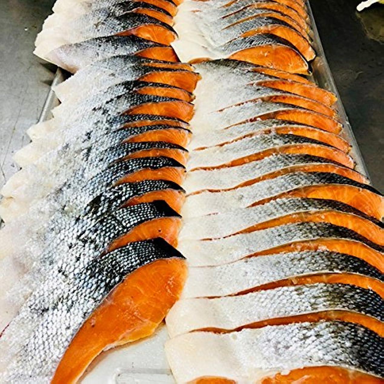 確率一月マニュアル紅鮭 天然 塩紅フィーレ 1枚 約1kg サイズ 色鮮やかな紅鮭フィレ 業務用 大特価 人気