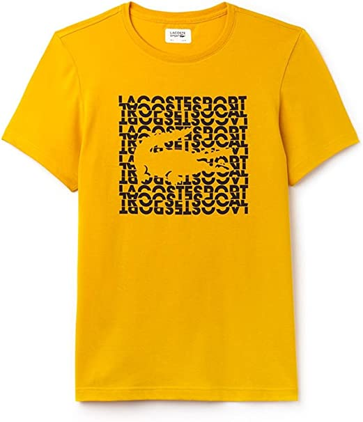 Lacoste Camiseta TH3382 Amarilla 8 Amarillo: Amazon.es: Ropa y ...