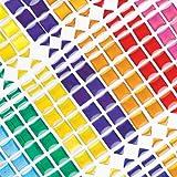 Lot de 375 Pierres Mosaïque Adhésives - Idéal pour les décorations de cadre photo