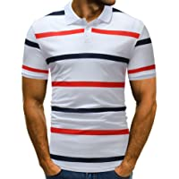 VPASS Mens Buttons Design Pique Polo T-Shirt Super Premium Half Cardigans Valueweight Short Sleeve Slim Fit Cool Breathable Cool T Shirt