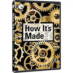Everyday we use hundreds of products throughout our routines, never stopping to think about where those products come from and how they were manufactured. How It's Made Season 5 and 6 show you the outrageous behind the ordinary in the step-by...