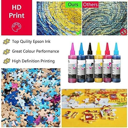 GXYtable cloth Schwierige 2000 Stück Holzpuzzle Erwachsenen pädagogisches Spielzeug for Kinder Spaß-Cartoon-Landschaft Puzzle -4.2 (Color : C)