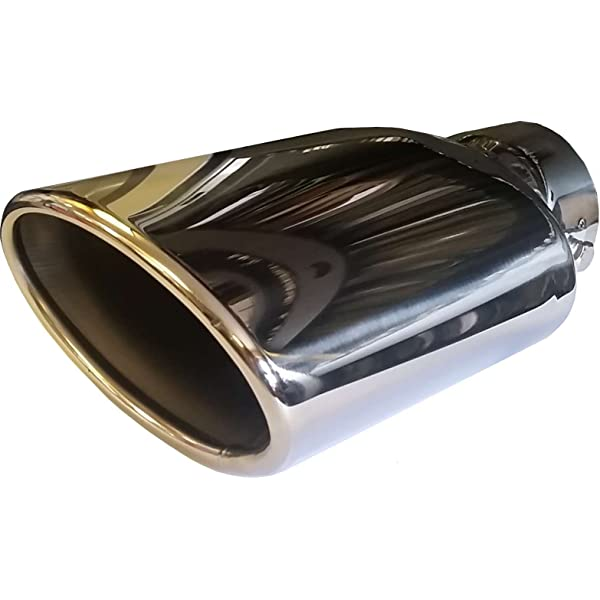 160mm ROUND BORE Single//Double//Twin//Oval Post Box//Round//Big Bore//Up Swept//Clip On//Weld On//Matt Black XtremeAuto/® Universal Stainless Steel High Quality Exhaust Tail Piece Tip