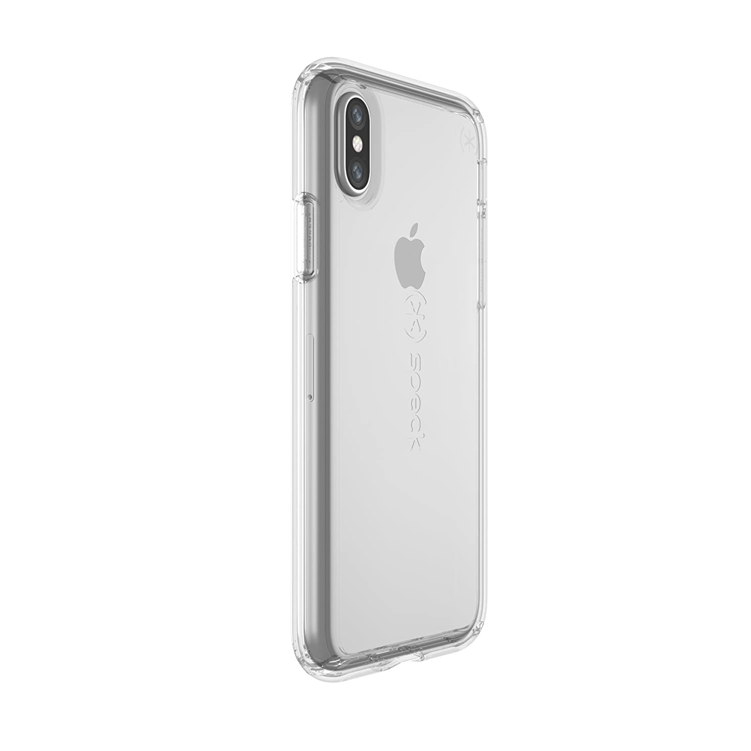 info for 50ad5 bda21 Speck Products Gemshell Case, iPhone XS/iPhone X Case - Clear/Clear