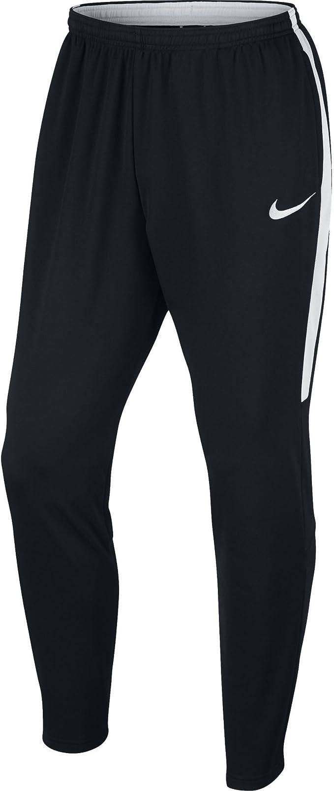 recoger limpiador inundar  Amazon.com : Nike Men's Dry Academy Football Pant (L, Black/White) :  Clothing