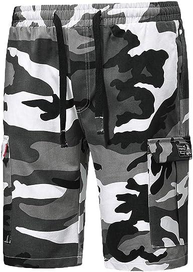 Pantalones para Hombre, Chándal de Hombres Camuflaje ...