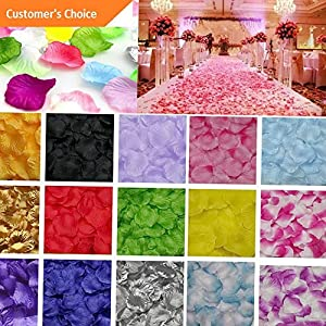 Hebel 400Pcs Silk Flower Rose Petals Wedding Party Table Decoration US | Model ARTFCL - 964 | 26