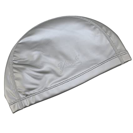 Dianoo nuevo flexible gorra de natación durable pu buceo sombrero impermeable gorras de natación protector tapones para los oídos adulto gorra de natación ...