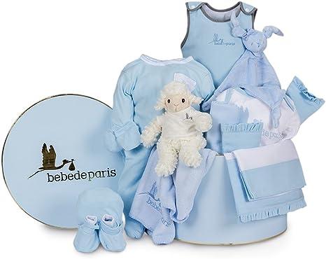 Canastilla regalo bebé en Caja Vintage Serenity Ensueño de ...