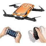 Furibee Faltbare Drohne mit HD Kamera, H818 720P WiFi FPV Selfie Drone mit Gravity Sensor Kopfloser Modus Höhe Halten Quadcopter RTF