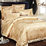 WaaiSo Simple Pure Cotton Soft Comfortable Bedding Collections Bedding Sets Four set ,2.0m?suitable 6.6 inches bed? Four set for chlidren, student, bedroom,&f3583