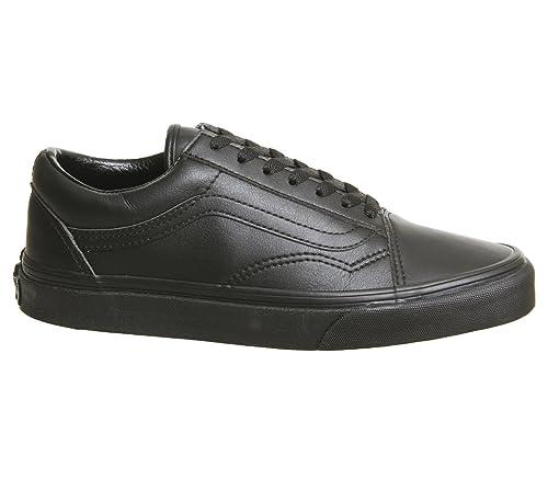 vans hombre leather