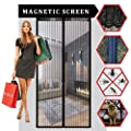 "Magnetic Screen Door, Augymer Velcro Mesh Bug Screen 34""*82"" Pet Friendly Premium Quality Heavy Duty Door Screens With Magnets Automatically Tightly Hands Free from HIAugymer"