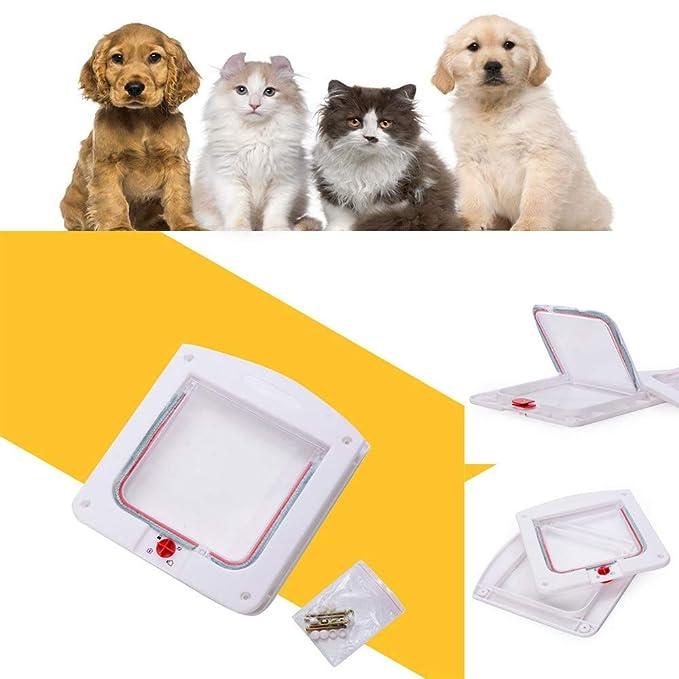 CAOQAO - Gatillo para gato con chip electrónico con túnel ...