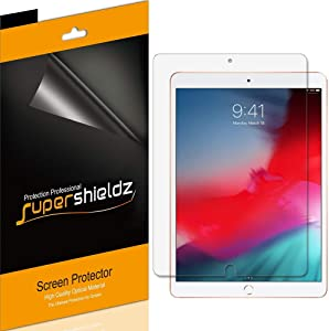 (3 Pack) Supershieldz for Apple iPad Air 10.5 inch 2019 (3rd Generation) and iPad Pro 10.5 inch Screen Protector, Anti Glare and Anti Fingerprint (Matte) Shield