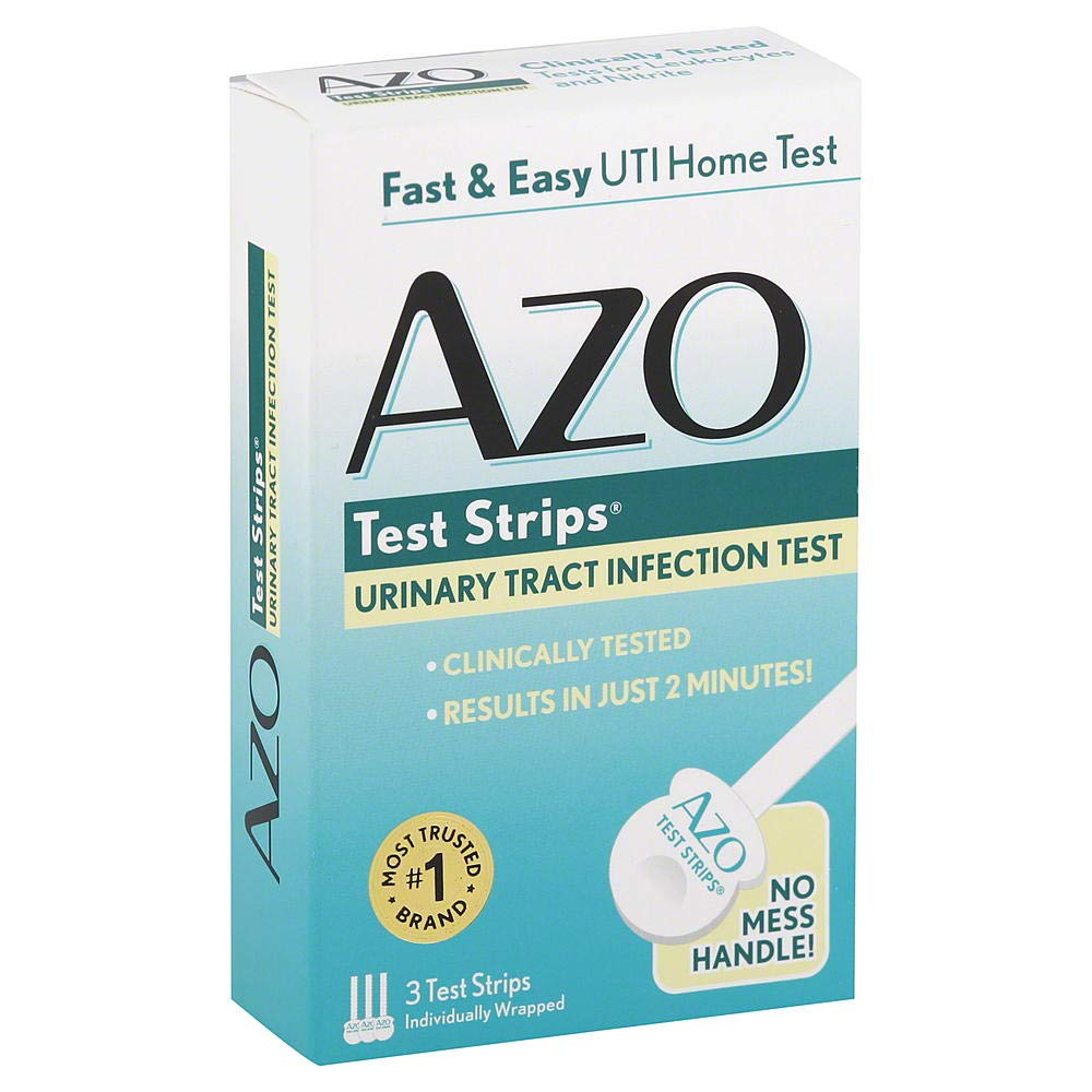 AZO Test Strips 3 Each (Pack of 3) by AZO